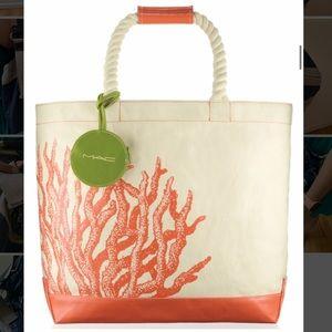 MAC Cosmetics To The Beach bag COLLECTORS ITEM